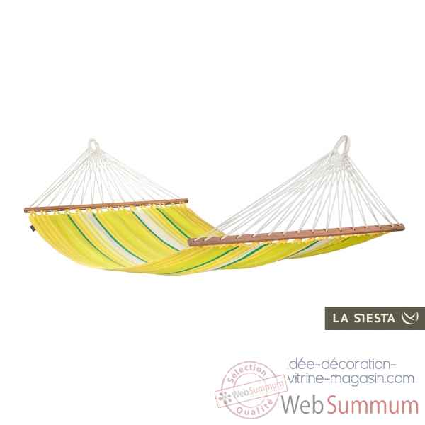 Hamac a barres simple bio colombien islena lemon La Siesta -ISR11-5