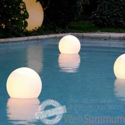 boule lumineuse acquaglobo 60 slide lp sfg060 de lampes jardin et terrasse. Black Bedroom Furniture Sets. Home Design Ideas
