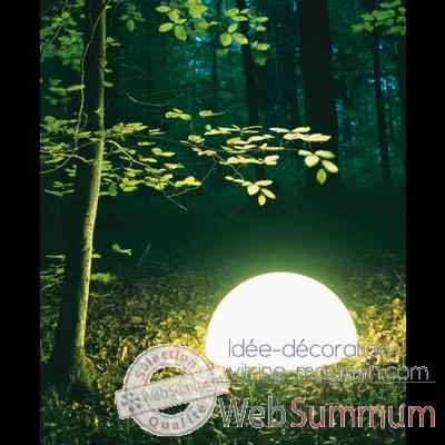 Lampe ronde socle a visser Day Color Moonlight -dlc550015