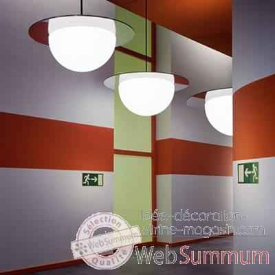 Lampe ronde a suspendre Day Color Moonlight -dlc550110