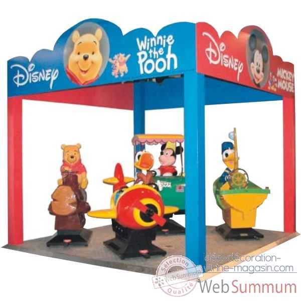 Kiosque interieur disney Merkur Kids -73014012