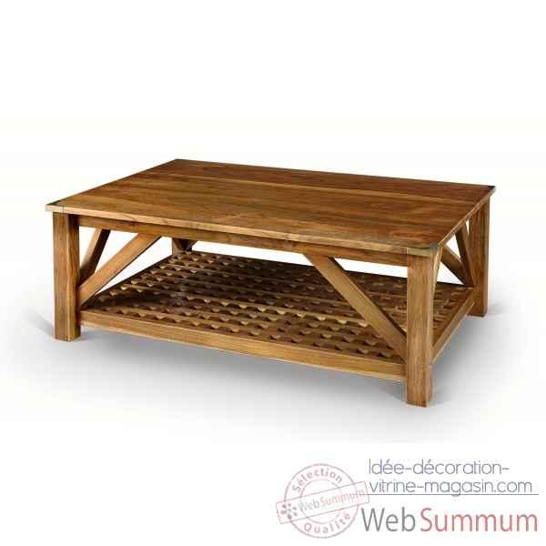 Table basse pour le salon en vieux bois de r cup cette for Les tables basses