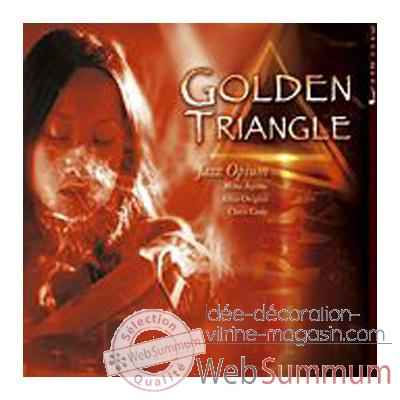 CD musique Terrahumana Golden Triangle Jazz Opium -1172