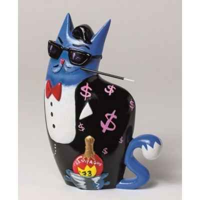 Figurine dean, big city chat bleu de selwyn senatori -ST00603
