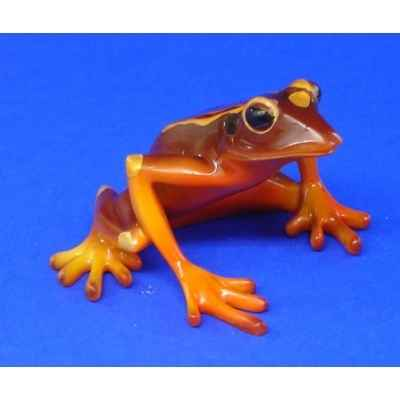 Figurine grenouille - red bellied tree frog - bf08