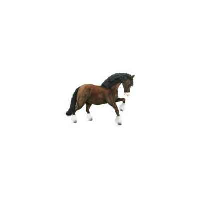 Peluche Cheval de trait Clydesdale Anima-5094