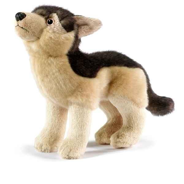 peluche lynx gris animaux de anima dans peluche animali re anima de vitrine animaux. Black Bedroom Furniture Sets. Home Design Ideas