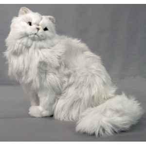 peluche assise chat persan 45 cm piutre 311 dans chats de peluche animali re piutre. Black Bedroom Furniture Sets. Home Design Ideas