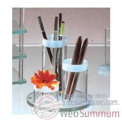 porte crayons marais en verre de marais international de. Black Bedroom Furniture Sets. Home Design Ideas