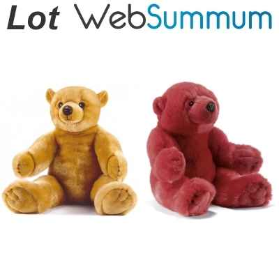 Promotion Peluche Ourson Anima -LWS-32