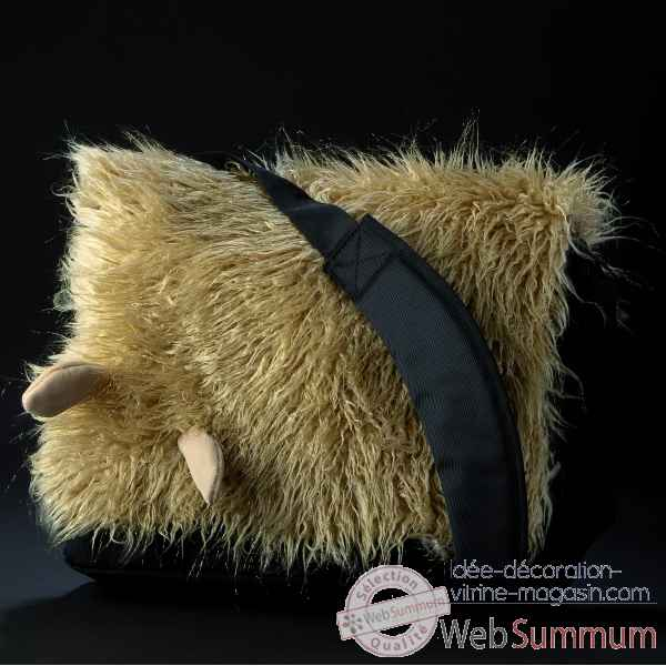 Peluche Sac Hairy queeny bag Sigikid 23696