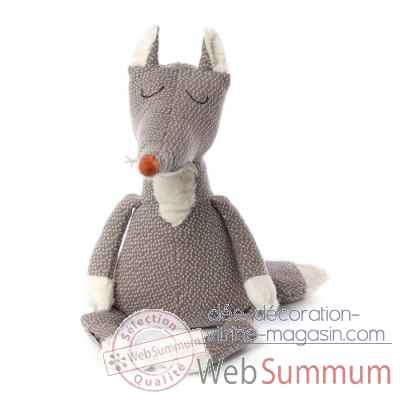 Peluche loup smiling smith beasts sigikid -38805