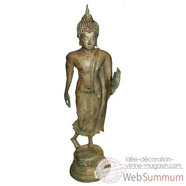 Statuette antique en bronze -BRZ612