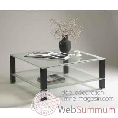 Table Basse Carree Marais Avec Pieds En Mdf Riad175
