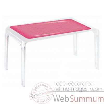Table Design Baby Gloss Bleue Aitali