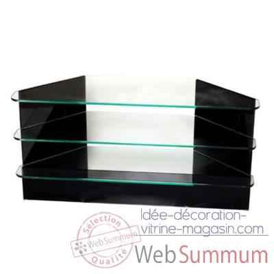 Achat de trempe sur id e d coration vitrine magasin for Table tele en verre