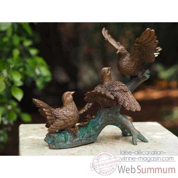 Sculpture en bronze thermobrass -an0771br-b