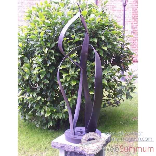 "Sculpture moderne ""together\"" -AN0818BR-B"