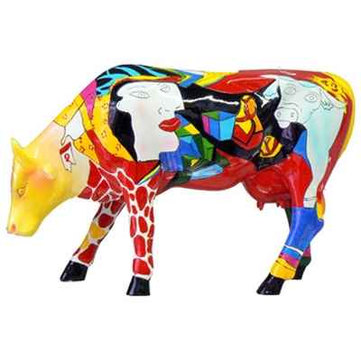 Cow Parade -South Africa 2005, Artiste Annalie Dempsey - Hommage to Picowso\'s African Period-46357