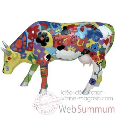 Cow Parade - Groovy moo-46330