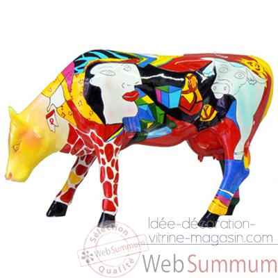 Cow Parade - Hommage to Picowso's African Period-46363