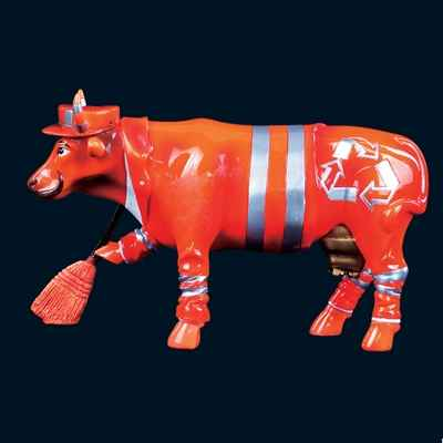 Vache Mister Clean Art in the City - 84103