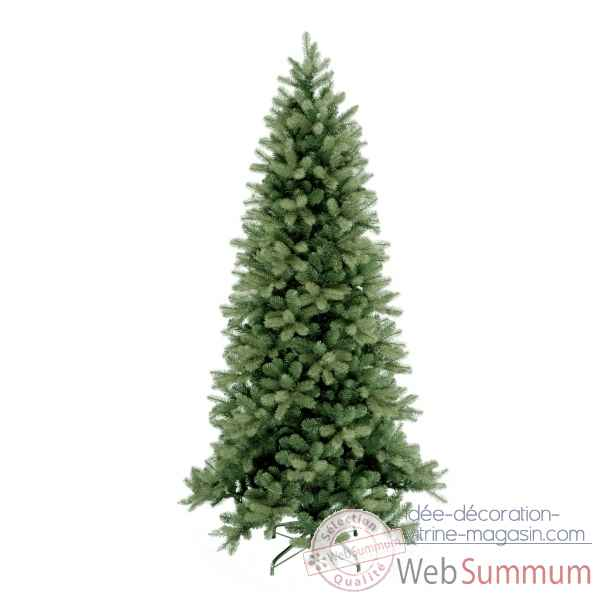 Sapin poly downswept douglas fir slim hook on h152cm Van der Gucht -31PEDG50