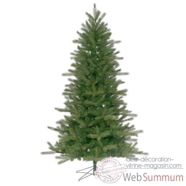 Sapin stockholm outdoor pe hinged tree h198cm Van der Gucht -31STO198